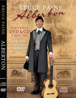 Alberton DVD+CD set cover artwork