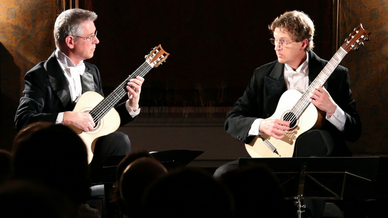 Rex Button and Bruce Paine - guitar duet partners