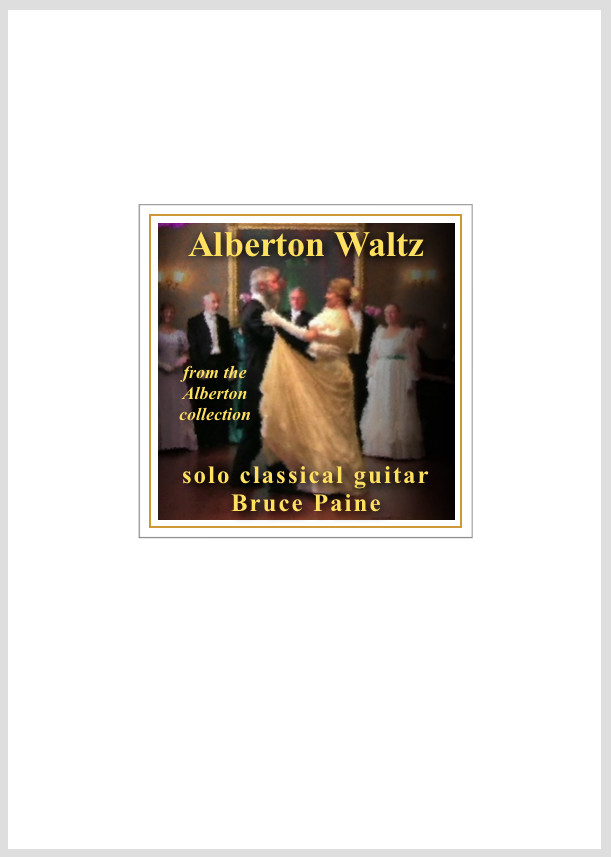Picture of Alberton Waltz cover page