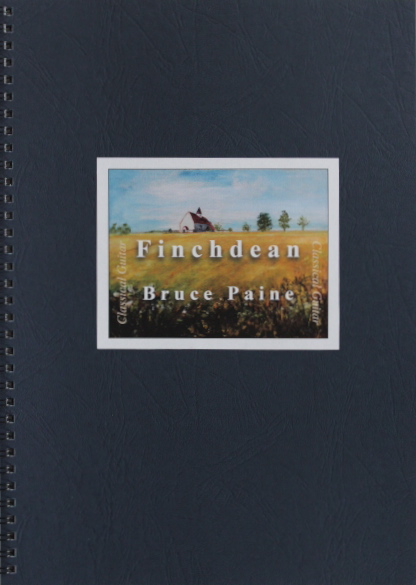 Picture of Finchdean sheet music cover page