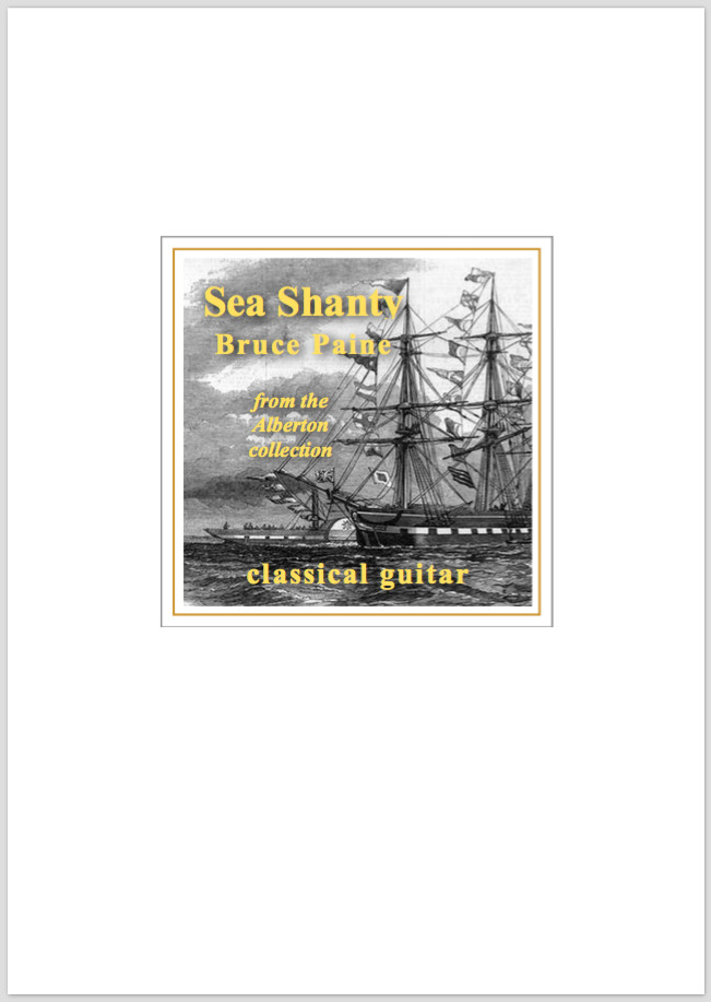 Picture of Sea Shanty sheet music cover page